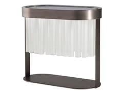 Lampada da tavolo in acciaio e vetroLIBRETTO | Lampada da tavolo - ROCHE BOBOIS