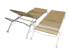 Lettino da giardino reclinabile con ruoteLIFT - MOBIKA GARDEN