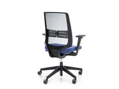 - Task chair with 5-Spoke base with armrests LIGHTUP 250STL - profim