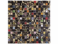 - Marble mosaic BOITE - CONTEMPORARY BOX - LIKU 15 - Lithos Mosaico Italia - Lithos