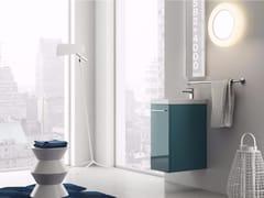 - Wall-mounted laminate vanity unit LILLIPUT - 1 - INDA®