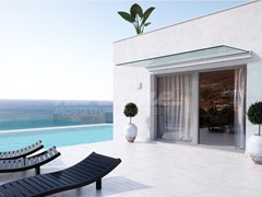 - Tempered glass door canopy LINEA PLUS - FARAONE
