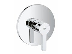 - Single handle shower mixer with plate LINEARE | 1 hole shower mixer - Grohe