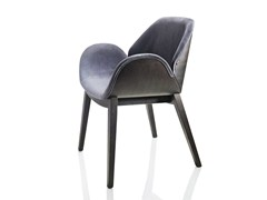 - Upholstered ash chair with armrests LIPS | Chair - ALMA DESIGN