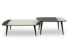 - Lacquered square coffee table LIQUID COFFEE | Square coffee table - BAXTER