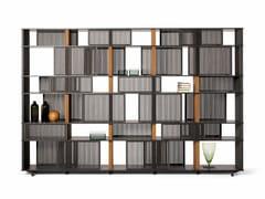 - Oak bookcase LLOYD | Bookcase - Poltrona Frau