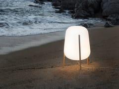 Lampada da terra a LED in polietileneLLUM - CALMA