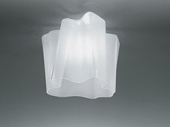 - Halogen blown glass ceiling lamp LOGICO | Ceiling lamp - Artemide