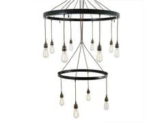 - Handmade pendant lamp LOME 2 TIER CHANDELIER - Mullan Lighting