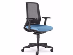 - Ergonomic mesh task chair with 5-Spoke base with armrests LOOK 270-AT - LD Seating