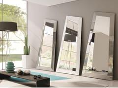 - Freestanding framed mirror LOOK | Freestanding mirror - Ozzio Italia