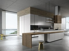 - Wooden kitchen with island LOOK | Kitchen with island - Snaidero
