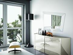 - Wall-mounted framed mirror LOOK | Wall-mounted mirror - Ozzio Italia