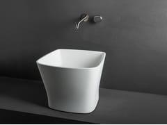 - Countertop washbasin LOOP L+ - MAKRO