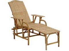 Chaise longue in rattanGRAND PÈRE | Chaise longue - KOK MAISON