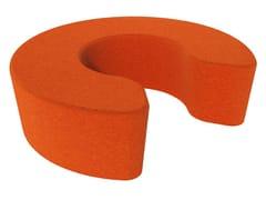- Fabric pouf LOVE LETTERS C - Segis