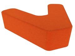 - Fabric pouf LOVE LETTERS V - Segis