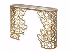 - Oval console table MANFRED | Console table - Fratelli Longhi