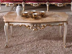 - Low marble coffee table BAROQUE | Low coffee table - Arvestyle