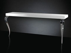 - Lacquered steel console table LUIGI | Rectangular console table - VGnewtrend