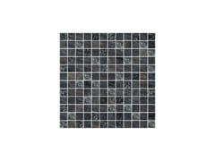 - Porcelain stoneware mosaic LUX NERO - CERAMICHE BRENNERO