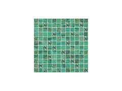 - Porcelain stoneware mosaic LUX VERDE - CERAMICHE BRENNERO