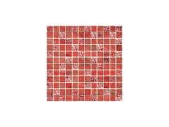 - Porcelain stoneware mosaic LUX ROSSO - CERAMICHE BRENNERO