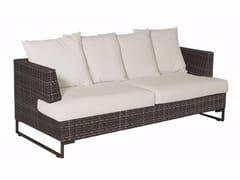 - 3 seater garden sofa LUXOR | 3 seater sofa - EMU Group S.p.A.