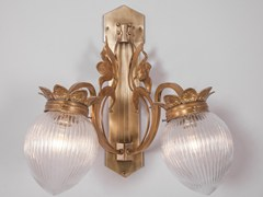 - Direct light brass wall lamp LYON IV | Wall lamp - Patinas Lighting