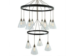 - Handmade pendant lamp LYX 2 TIER CHANDELIER - Mullan Lighting