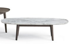 - Low marble coffee table MAD COFFEE TABLE | Marble coffee table - Poliform