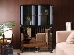 Mobile bar in legno e vetroMADISON | Mobile bar - TURRI