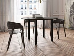 - Round wooden dining table MAEDA | Round table - Punt