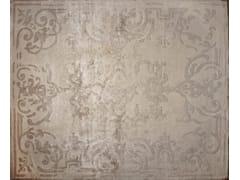 - Handmade rectangular custom rug MAGELLAN VINTAGE IVOIRE - EDITION BOUGAINVILLE