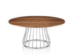 - Round wooden coffee table MAGIC | Wooden coffee table - Boss Design