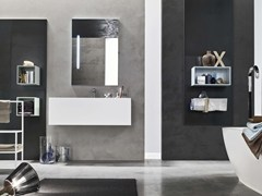 - Bathroom cabinet / vanity unit MAGNETICA - COMPOSIZION 07 - Arcom