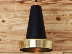 - Handmade brass pendant lamp MALABO POLISHED BRASS PENDANT - Mullan Lighting