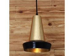 - Handmade brass pendant lamp MALABO POWDER COATED BLACK PENDANT - Mullan Lighting