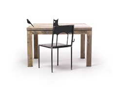 - Square spruce table MALICK | Square table - Vontree