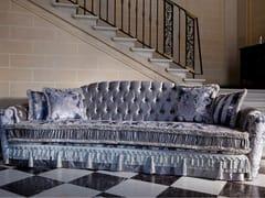 - Tufted 4 seater sofa bed MALVINA CAPITONNÉ | 4 seater sofa - Domingo Salotti