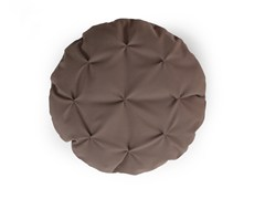 - Round fabric sofa cushion MANDARINAS - SANCAL