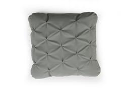 - Square fabric sofa cushion MANDARINAS - SANCAL