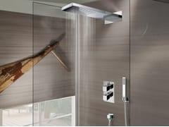 Soffione doccia a muro in acciaio inoxManhattan 1 spray - BOSSINI