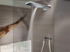 Soffione doccia a soffitto in acciaio inoxManhattan 2 sprays - BOSSINI