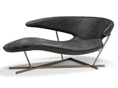 Chaise longue in pelleMANTA - ARKETIPO
