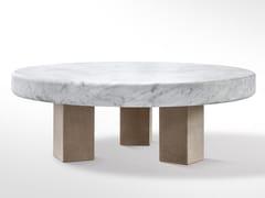 Tavolino rotondo in marmoSPAN | Tavolino in marmo - SALVATORI