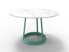 - Round table BRUT | Marble table - Magis
