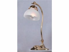 - Lampada da tavolo a luce diretta in ottone MARSEILLES I | Lampada da tavolo - Patinas Lighting
