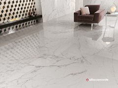 - Porcelain stoneware flooring with marble effect MARVEL XL | Porcelain stoneware flooring - Atlas Concorde