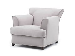 - Fabric armchair with armrests MARYANNE LOUNGE - BODEMA